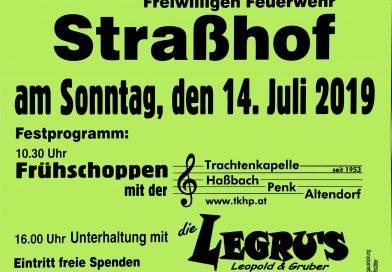 Einladung zum Gartenfest in Straßhof