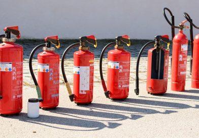 Feuerlöscherüberprüfung am 16. Mai