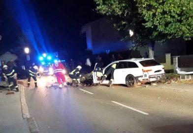 Verkehrsunfall in Wartmannstetten